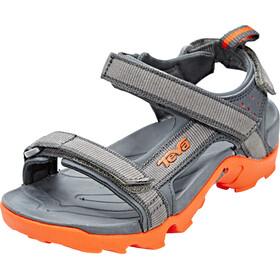 Teva Tanza - Sandales Enfant - gris/orange